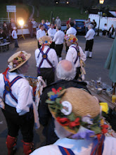 Photo: Coventry Morris in the limelight