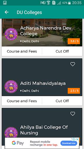 DU ADMISSIONS 2019 2.1.8 screenshots 2