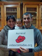 Photo: Lourdes, alabatxoa eta Edu.