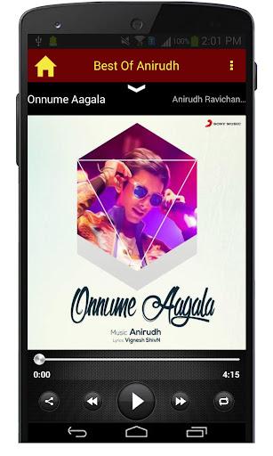 Best Of Anirudh Songs  screenshots 2