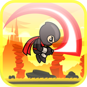 Ninja Runner Rush Heroes Devil