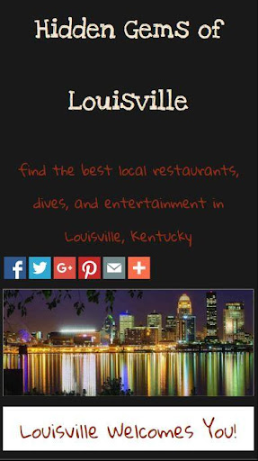 Hidden Gems of Louisville