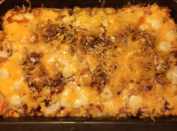 Guilt-free, No Tortilla Chicken Enchiladas Recipe