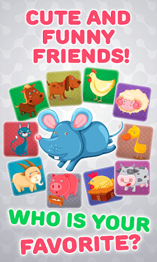 Baby Phone for Kids - Learning Numbers and Animals  screenshots 2