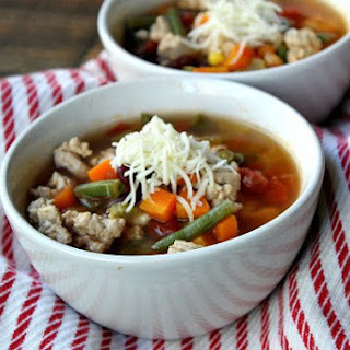 Turkey Vegetable Soup.