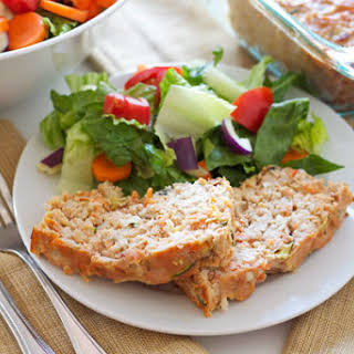 Turkey Vegetable Meatloaf.