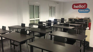 Aula de exámenes de Hello English! Educación.
