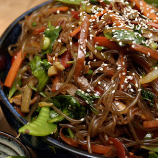 Korean Stirfried Noodles