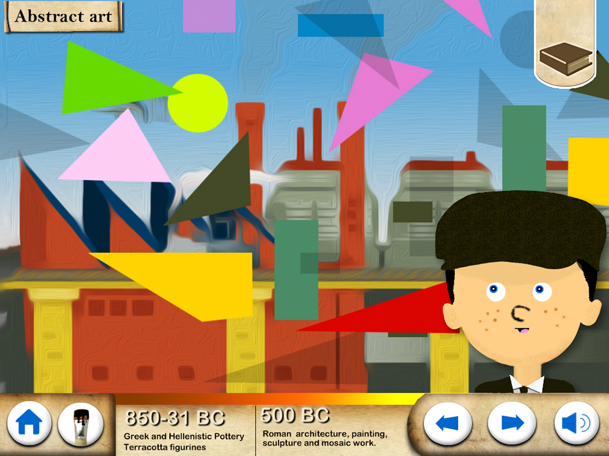 Art History Timeline For Kids- screenshot
