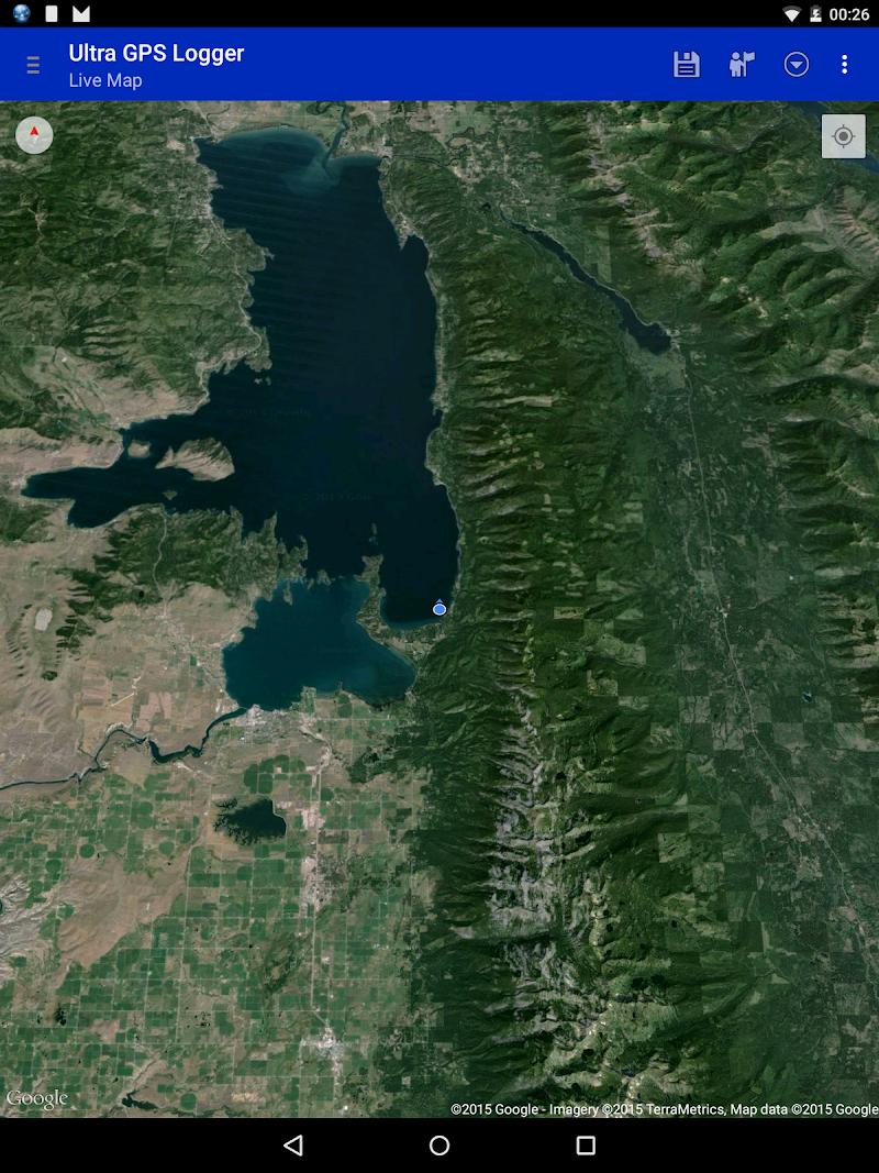 Ultra GPS Logger Screenshot 9