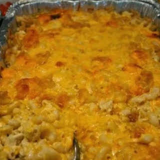Too Sinful Baked Macaroni and Cheese.