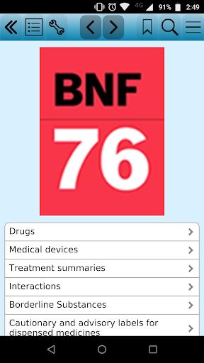 British National Formulary 76 screenshot 1