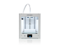 Ultimaker 2+ Connect 3D Printer - with Enhanced Service Plan (2 Years of Warranty Protection)
