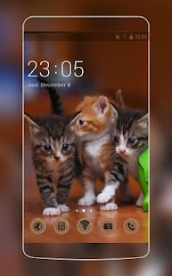 Theme with cats C Launcher - náhled