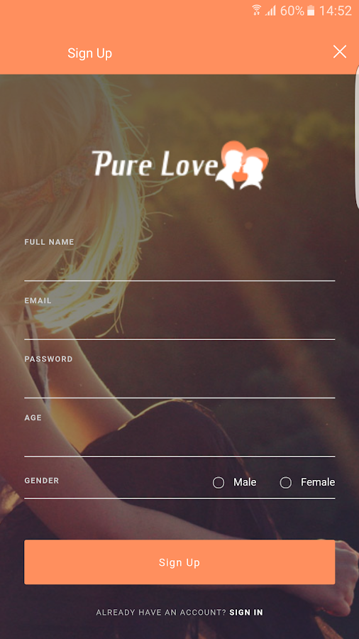 Adult dating pure love