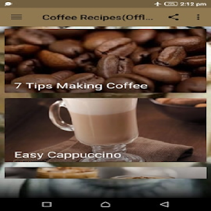 Coffee Recipes(Offline) 2