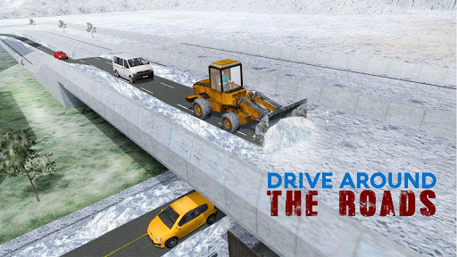 Snow Rescue Excavator Crane 3D  screenshots 4