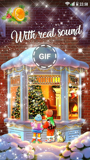 Christmas Songs Live Wallpaper with Music ud83cudfb6 2.8 screenshots 6