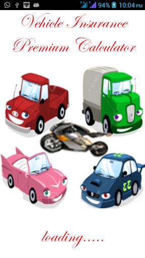 Vehicle Ins Premium Calc