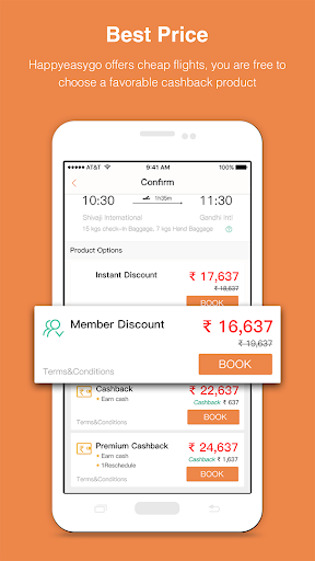 HappyEasyGo - Cheap Flight & Hotel Booking App 2.2.9 1