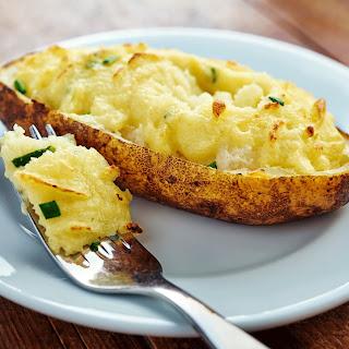 Twice Baked Duchess Potato.