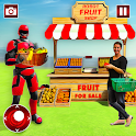 Grand Robot Fruit Seller icon