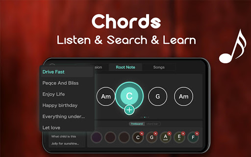 Real Guitar - Free Chords, Tabs & Music Tiles Game 1.5.3 screenshots 23