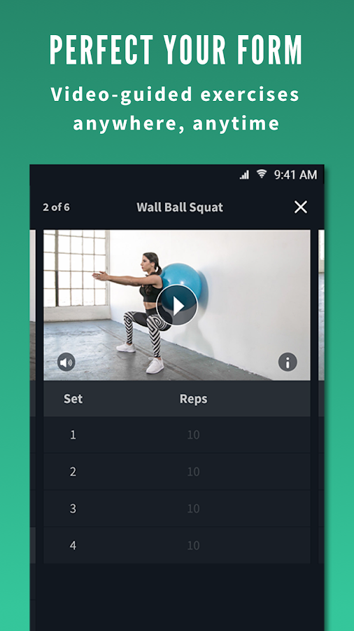 Fitplan: Train with Athletes- screenshot