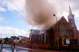 Photo: OH DEAR!! AN ACT OF GOD ON THE HOUSE OF GOD