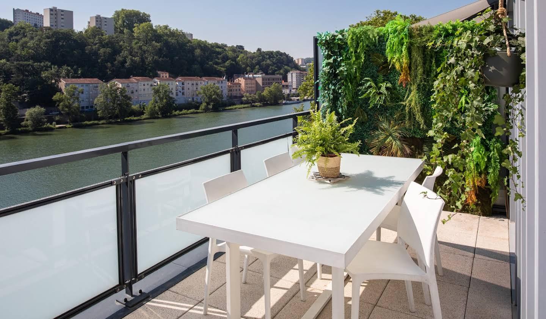 Appartement contemporain avec terrasse Lyon 9ème