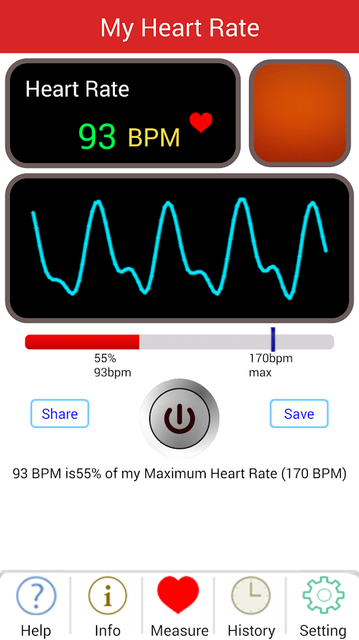 My Heart Rate- screenshot