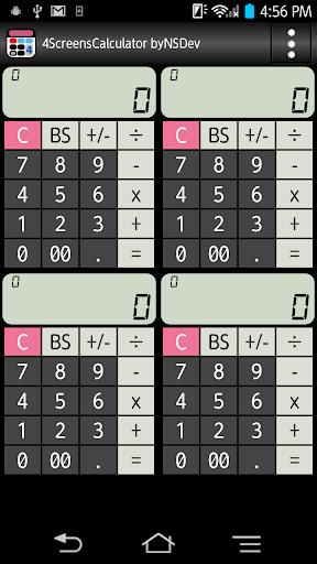 4ScreensCalculator byNSDev 1.1.7 Windows u7528 1