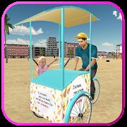Free Beach Ice Cream Man Free Delivery Simulator Games APK for Windows 8