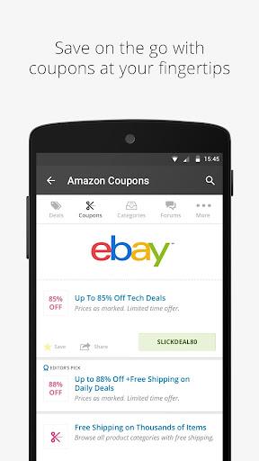 玩免費購物APP|下載Slickdeals: Coupons & Shopping app不用錢|硬是要APP