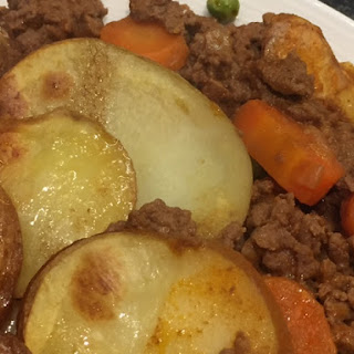 Beef Mince Hot Pot