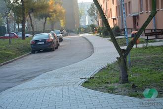 Photo: Remont chodników przy ul. Świerczewskiego w Słomnikach