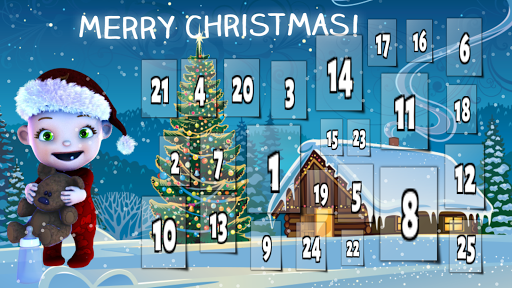 クリスマスのためのベビーアドベントカレンダー