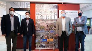 Inauguración de la exposición días atrás.