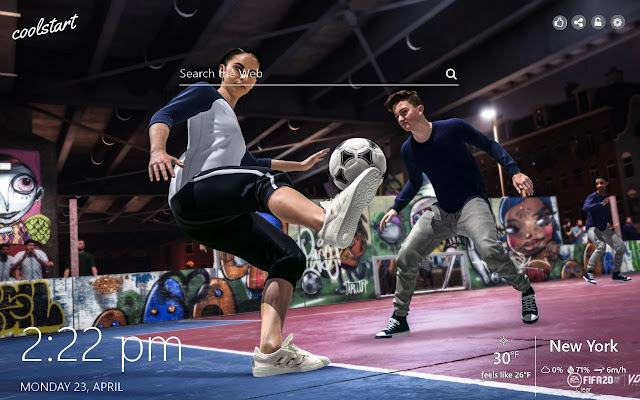 FIFA 20 HD Wallpapers Games New Tab Theme