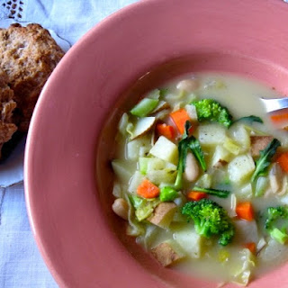 Veggie Packed Potato Chowder