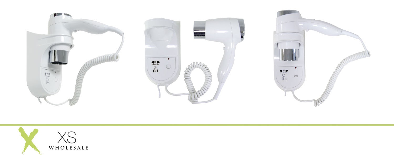 Wall Light With Shaver Socket: HAIR DRYER WALL MOUNTED WITH SHAVER SOCKET ELECTRIC