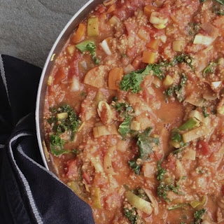 African Style Peanut Quinoa Stew