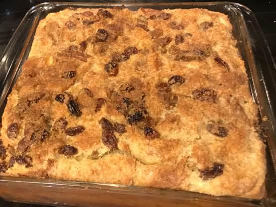 Mom's Bread Pudding Recipe