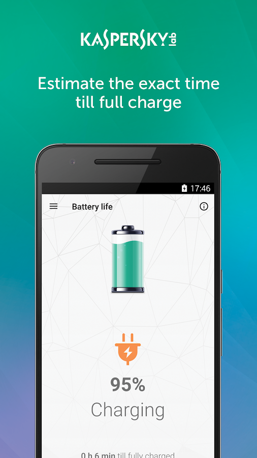 Kaspersky Battery Life: Saver & Booster- screenshot