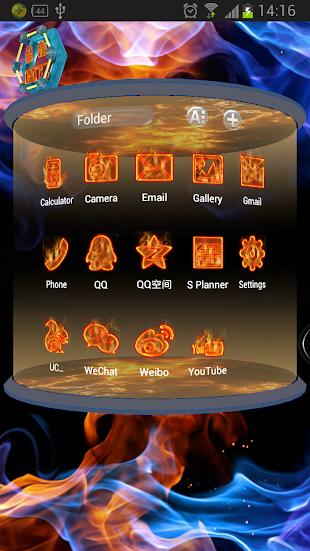 Fire Pro Next Launcher 3DTheme- screenshot thumbnail