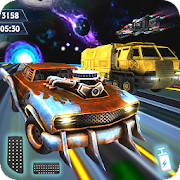 Download Galaxy Traffic Racer Space Game APK to PC