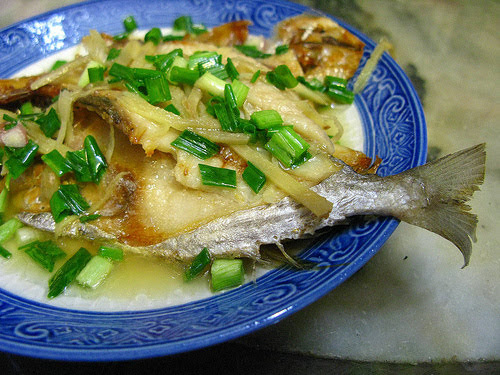 Steamed Salted Sun Dried Fish, salted fish, sun dried fish, 蒸南倉鹽鮮魚