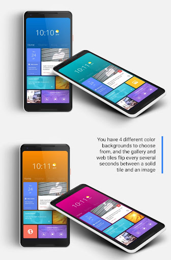 Screenshot for MetroHome for KLWP in United States Play Store