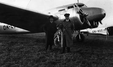 Photo: Jozef Engliš Lockheed Electra OK-CTA  olomouc.idnes.cz