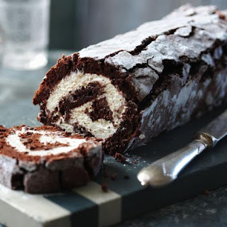 Chocolate Roulade.